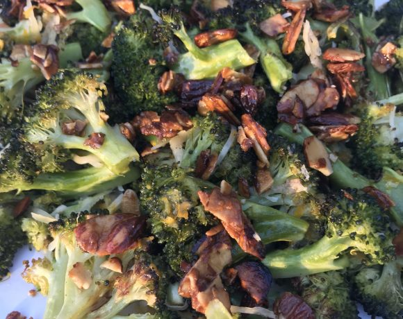Roasted Broccoli with Citrus Glaze