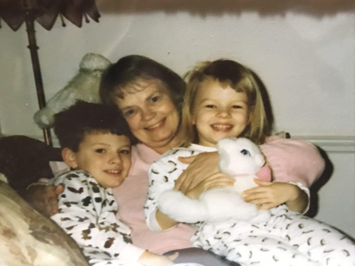 Nana, Garrett, and Maddie